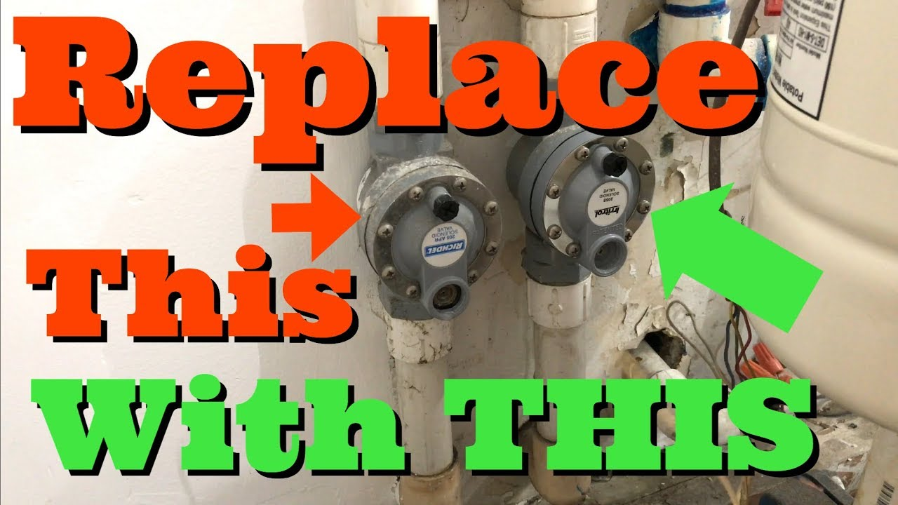 Richdel Sprinkler Valve Diagram Vauxhall Astra H Stereo Wiring How To Replace Solenoid 205 Apr With Irritrol 205s