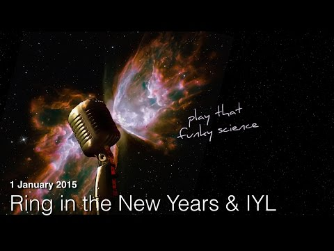 Ring in the New Year and the International Year of Light