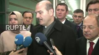 Turkey: Soylu expresses condolences for those killed in Besiktas attack