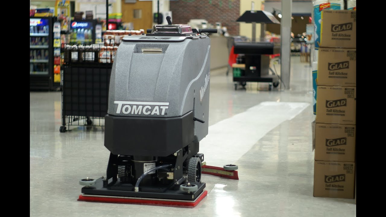 micromini clean inc system floors tomcat float tc scrubber product behind floor walk dryer