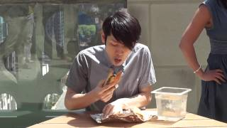 Kobayashi vs ChicagoNow : Italian Beef eating contest