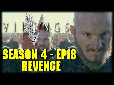 """Vikings Season 4 Episode 18 """"Revenge"""" Live Commentary Cast"""