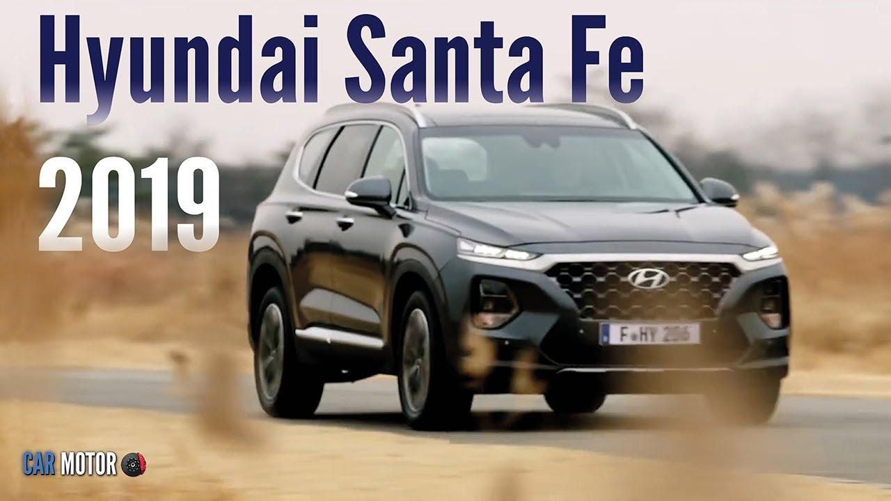 Hyundai Santa Fe 2019 - Primeros videos de la SUV coreana ...
