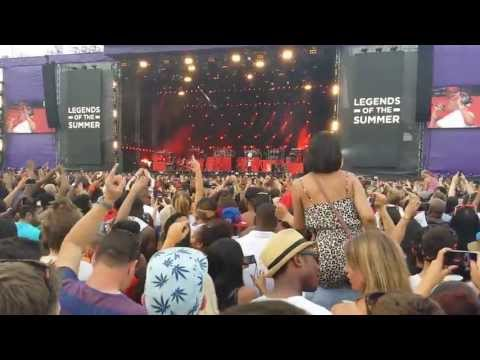 Holy Grail Jay-Z feat Justin Timberlake Live at Wireless Festival 2013 Legends of the Summer