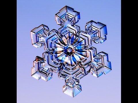 Макро фото снежинок 2 (увеличенные снежинки)