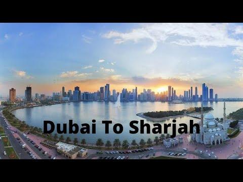 Dubai (Burjuman) TO Sharjah (City Center) - Dubai Tour (United Arab Emirates)