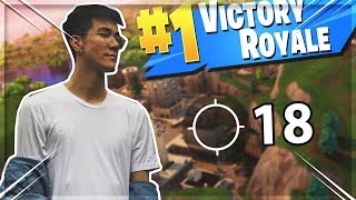 HARRY POTTER !   18 Kill Solo Duo Gameplay (Fortnite Battle Royale)