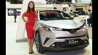 Toyota C-HR hybrid EV mode + HIGH SPEED TEST