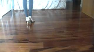 line dance walkthru A-B Chilli Cha