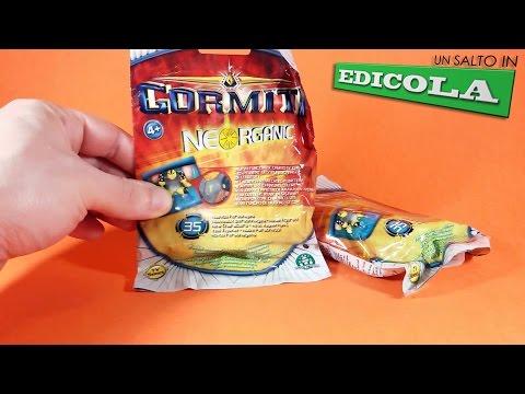 GIOCHI PREZIOSI - GORMITI NEORGANIC UN SALTO IN EDICOLA RECENSIONE (ita)