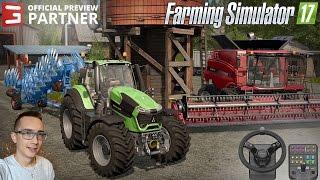 Farming Simulator 17 ☆ Prezentacja Gospodarstwa i Żniwa Rzepaku 2016 #1 Saitek ㋡ MafiaSolec