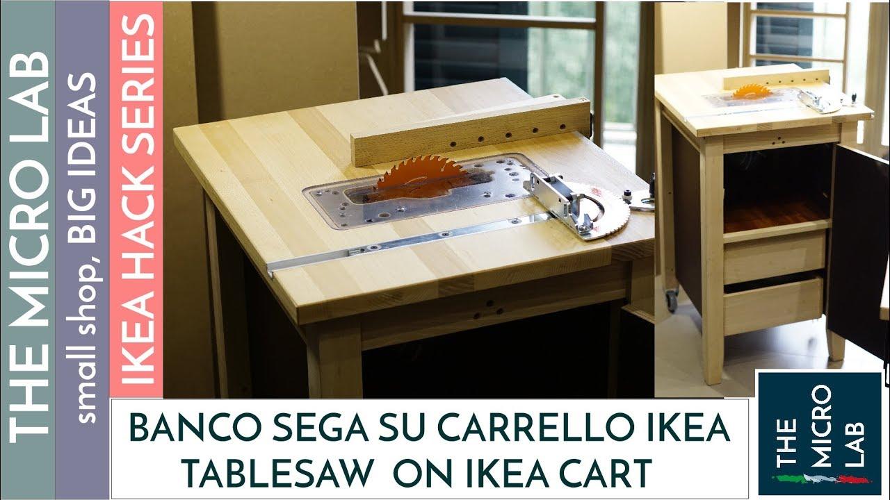 Banco Sega su Carrello da Cucina di Ikea Fai Da Te  Prima