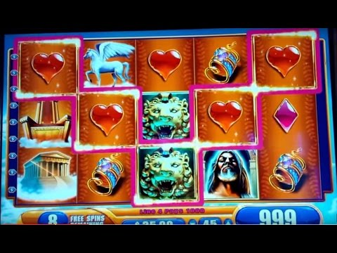 Kronos Slot Win - $45 Max Bet - Slot Machine Bonus! - 동영상