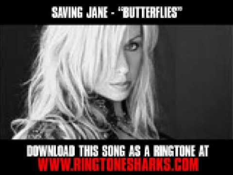 Saving Jane - Butterflies [ Music Video + Lyrics + Download ]