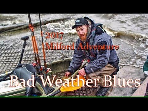 2017 lake milford kayak fishing adventure youtube for Milford lake fishing report