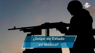 """La Oficina en Washington para Asuntos Latinoamericanos advirtió en su análisis """"México militarizado: la guerra se perdió, pero la paz no llega"""", que las fuerzas armadas tienen la fuerza suficiente para tomar el control del país """"sin necesidad de dar un golpe de Estado"""""""
