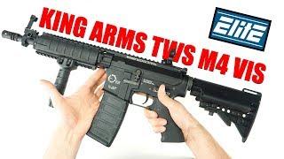 КРЕПКАЯ ЭМКА ИЗ АЛЮМИНИЯ 6061 - King Arms m4 TWS VIS серии Elite(, 2017-12-06T08:00:02.000Z)