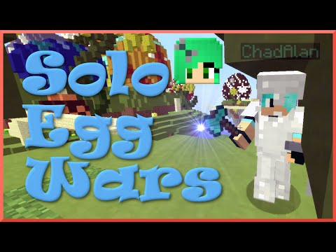 Solo Egg Wars - Sally vs. Chad -  Easter Map!