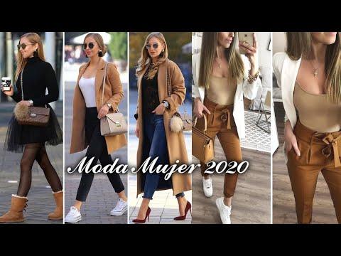 MODA MUJER OTOÑO INVIERNO 2020 OUTFITS EN TENDENCIAS DE OTOÑO INVIERNO