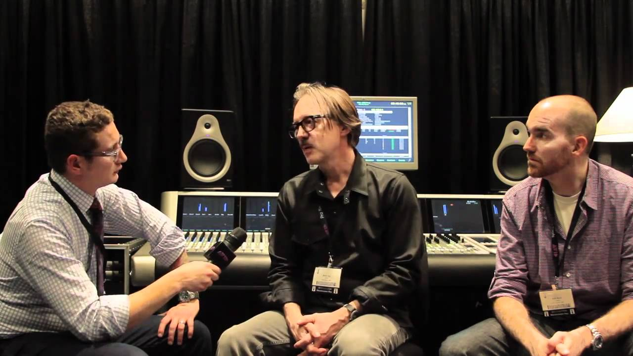 AES 2010 - Producer Butch Vig and Engineer Billy Bush ...