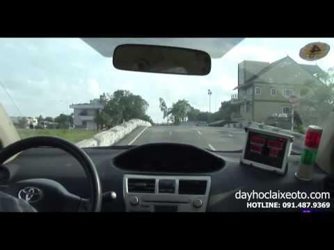 Dạy học lái xe ô tô - Dừng và khởi hành ngang dốc