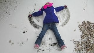 Winter 2013 (Tutorial on Making Snow Angels)