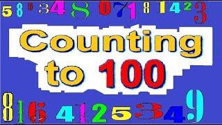 Учимся считать до 100 на английском языке   Counting To 100 Song   Обучающие мультики для малышей
