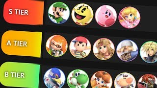 Worst Smash Bros Tier List EVER (Polygon)