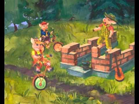 Три поросёнка Лучшие советские мультфильмы онлайн