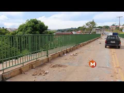 Reforma de ponte da Vila Progresso em Guaxupé finaliza na próxima quarta