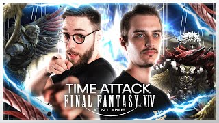FFXIV : FINALE DU TOURNOI (Time Attack) #PublicitéParSquareEnix