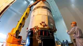 ATV-5 last preparations (timelapse)