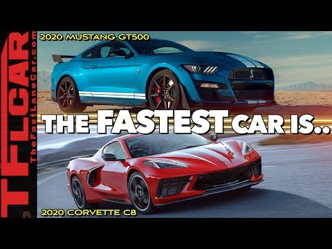 2020 Ford Mustang Shelby GT500 vs New Chevy Corvette C8 | Which One Is Better?