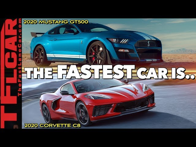 2020 Ford Mustang Shelby Gt500 Vs