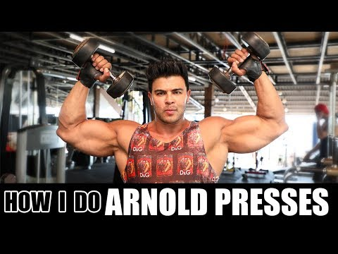 ARNOLD PRESSES For Beginners