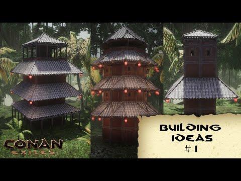 BUILDING IDEAS #1  KHITAN TOWERS - CONAN EXILES |