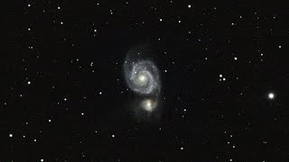 Messier 51 (The Whirlpool Galaxy) - Processing  / English