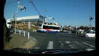 路線バスが道を間違えた? 船橋新京成バス【船22B】古和釜十字路行き