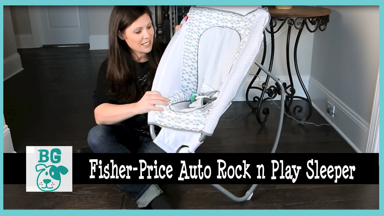 Bg Review Fisher Price Newborn Auto Rock N Play Sleeper Youtube