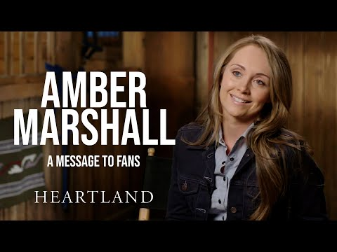 Amber Marshall's Message to Fans *SPOILERS* | Heartland