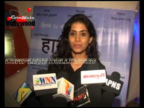 Ashutosh Rana, Renuka Sahane & Others at National Award Winning Umesh Kulkarni's 'Highway' Premiere