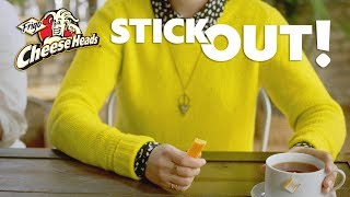 Frigo® Cheese Heads®: Stick Out at the Coffee Shop!