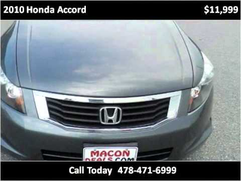 2010 honda accord used cars macon ga youtube for Honda macon ga