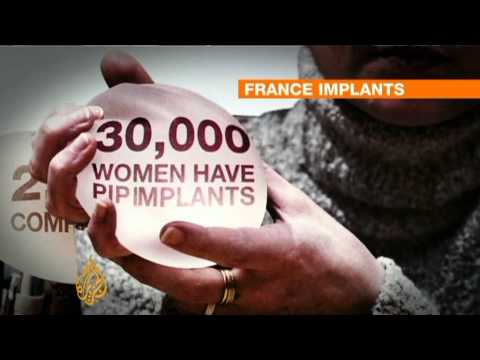 French women risk breast implant removal