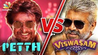 Rajinikanth to Lock Horns with Ajith | Petta Vs Viswasam | Hot Tamil Cinema News