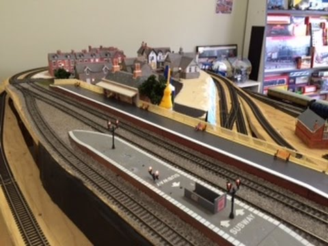 Improving the Station – Part 1 – Enhancing Hornby Platforms
