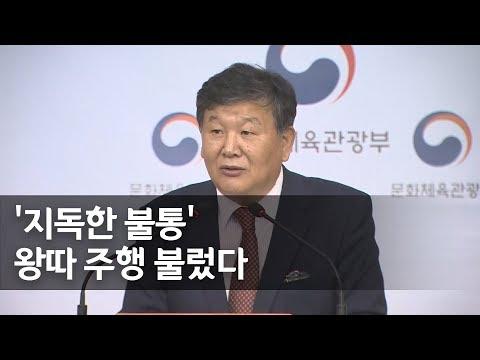 """문체부 """"전명규 전 부회장, 빙상계에 부당한 영향력 행사"""" / 연합뉴스 (Yonhapnews)"""
