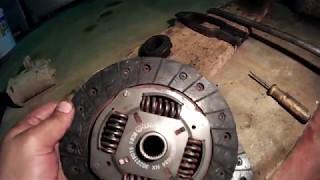 Как снять коробку передач. Ремонт сцепления,VW PASSAT B3,подробно