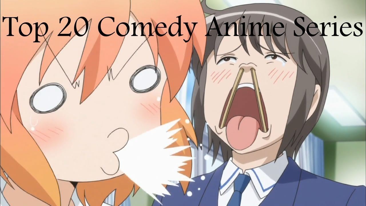 Top 20 comedy anime series youtube