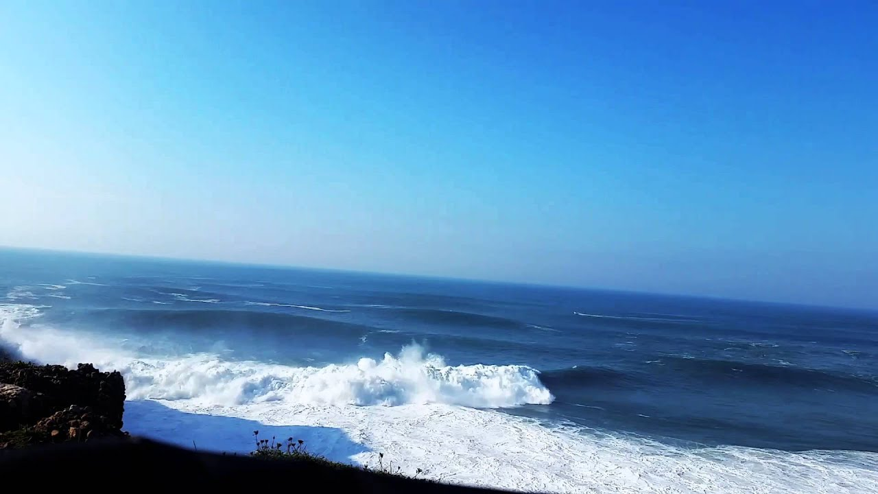 Nazare Portugal Waves